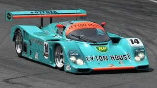 Porsche 962 CK6 Group C Sound - Accelerations & Fly Bys