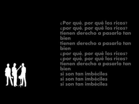 Los Prisioneros - Porque Los Ricos