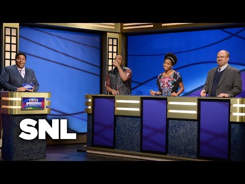 Black Jeopardy - Saturday Night Live