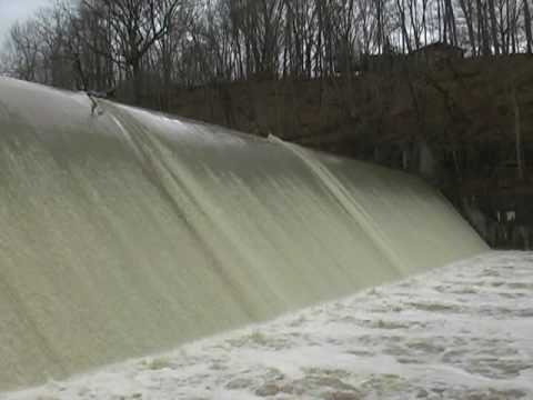 Canonsburg Lake Dam Canonsburg Lake Spillway After
