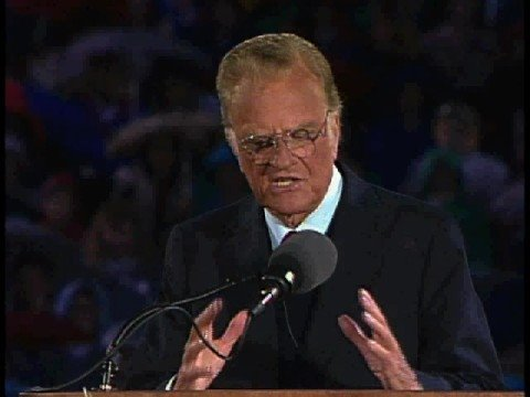 Billy Graham denies Jesus - the real answer