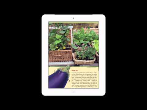 How to make an iPad App: Old Farmer's Almanac