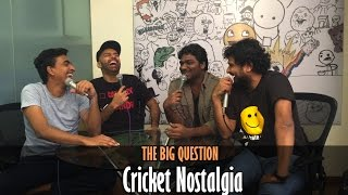 SnG: Why We Love Cricket? Ft Zakir Khan   The Big Question Episode 30   Video Podcast