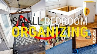 20 Lit Small Bedroom Organizing Ideas Worth Trying