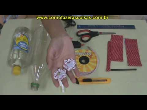 Como fazer uma cesta de garrafa pet - parte 1