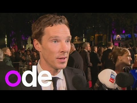 Benedict Cumberbatch interview: He admits to being a good secret keeper at The Imitation Game gala