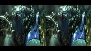 VR video cardboard - StarCraft II  Wings of Liberty  [3D Side By Side]
