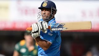 India v South Africa, 2nd ODI : Dhoni 92* powers India to 247
