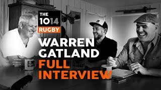 Warren Gatland | FULL Interview | The 1014 Rugby