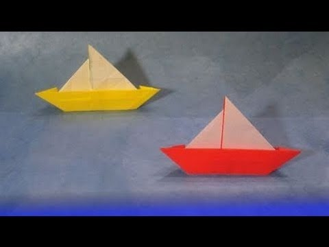 Amazoncom Patterned Fun Origami Sail Boat Baby Mobile