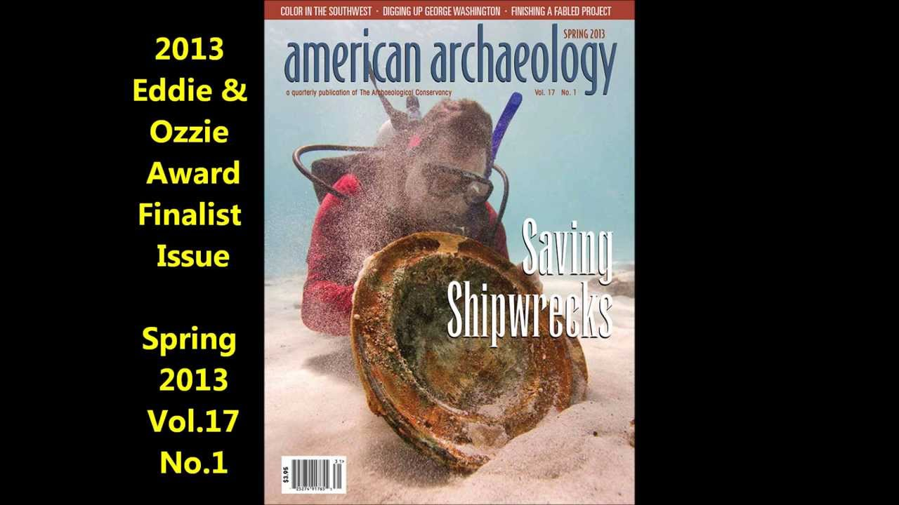 Archaeological Conservancy Magazine American Archaeology Magazine