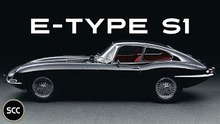 JAGUAR E-TYPE series 1 4.2 Coupé 1965 - Modest test drive - Engine sound | SCC TV