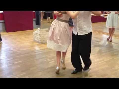 Резюме урока аргентинского танго. Ольга Маркина и Роман Замолодчиков
