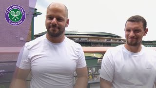 Stefan Olsson and Joachim Gerard reflect on Wheelchair Doubles triumph at Wimbledon 2019