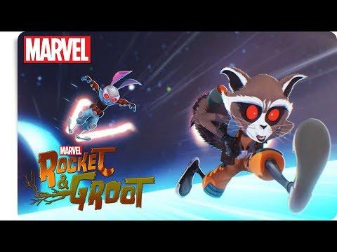 Rocket & Groot - Weltraumrennen   Marvel HQ Deutschland