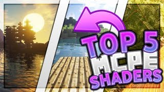 Top 5 Best MCPE Shaders 2019 1.11.4+ / Minecraft PE (Pocket Edition, Xbox, Windows 10)