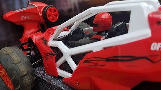 Unboxing and Testing an Off-Road Racer RC 1:10 Speed Buggy