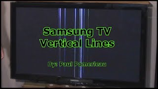 Samsung TV Vertical Lines