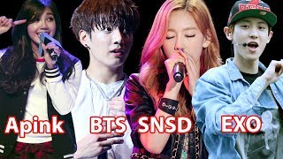 Download Lagu When Idol Performing But Music Stops - Reaction of Idol and Fans Gratis STAFABAND