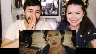 RESIDENT EVIL The Final Chapter teaser reaction by Jaby & Achara!