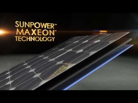SunPower, the World's Standard for Solar: MAXEON Solar Panel Technology
