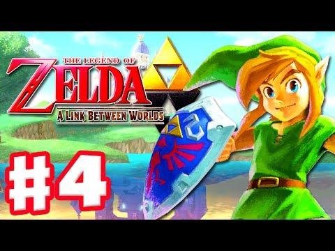 The Legend of Zelda: A Link Between Worlds - Gameplay Walkthrough Part 4 - Dodging Cuccos (3DS)