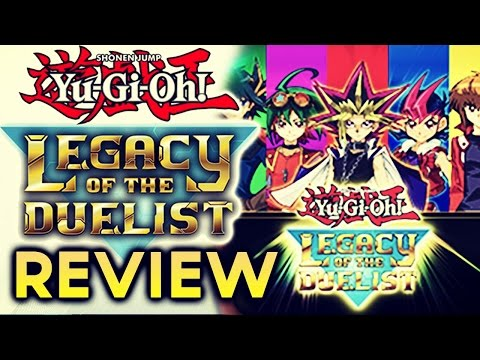 REVIEW YU-GI-OH! LEGACY of the DUELIST [PS4 XBOX ONE] Is it Worth It?
