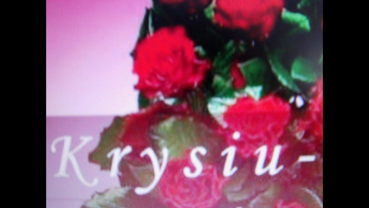 Imieniny Krystyny-Piosenka dla Krystyny. - YouTube