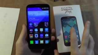 """Обзор смартфона Alcatel 7047D Pop C9 - 5.5"""" четыре ядра за 6.000р"""