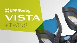 UPPAbaby VISTA Stroller - Twin Mode