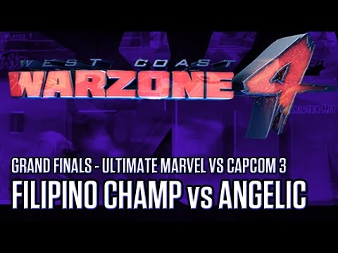 Filipino Champ (@FChampRyan) vs. BT | @AZAngelic - GRAND FINALS - West Coast Warzone 4 - UMVC3