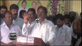 DMDK Leader Vijaykanth in Kanchipuram