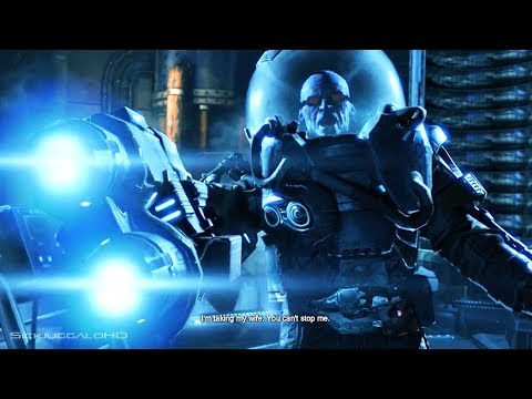 Batman Arkham Origins Cold, Cold Heart Ending Walkthrough - Batman vs Mr. Freeze