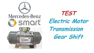 Smart ForTwo 451 - TEST Electric Motor Transmission Gear Shift