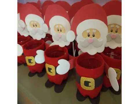 Weihnachtsdekoration in gummi eva