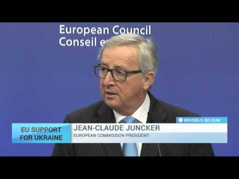 EU Support for Ukraine: Jean-Claude Juncker about EU's hopes for Ukraine's visa liberalisation plan