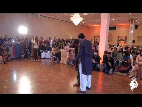 Pakistani   Desi Wedding Dance - Jauwad & Sahar video