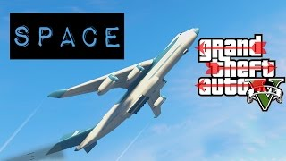 GTA 5 PC Mod | Space Travel | To The Top Of The Map