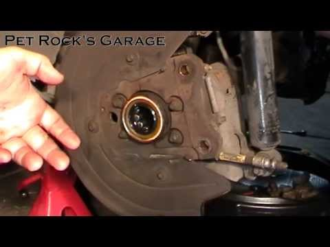 How To Replace Axle Seals & Bearings In Ford 7.5 & 8.8 Differential - Ford Mustang