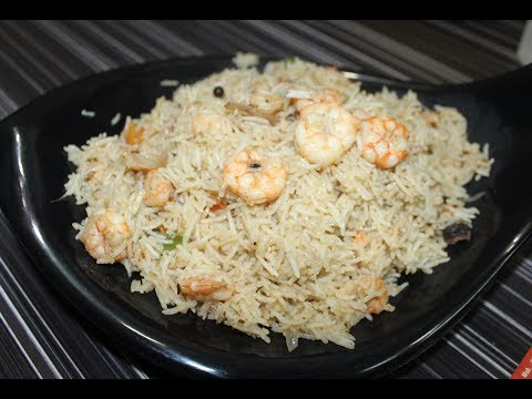 PRAWNS PULAO ON VIEWERS DEMAND