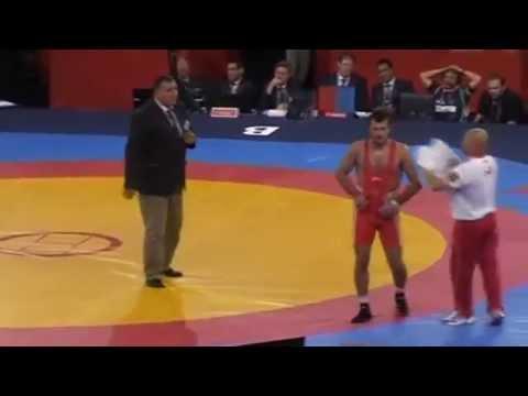 74 кг Денис Царгуш - Давид Хуцишвили