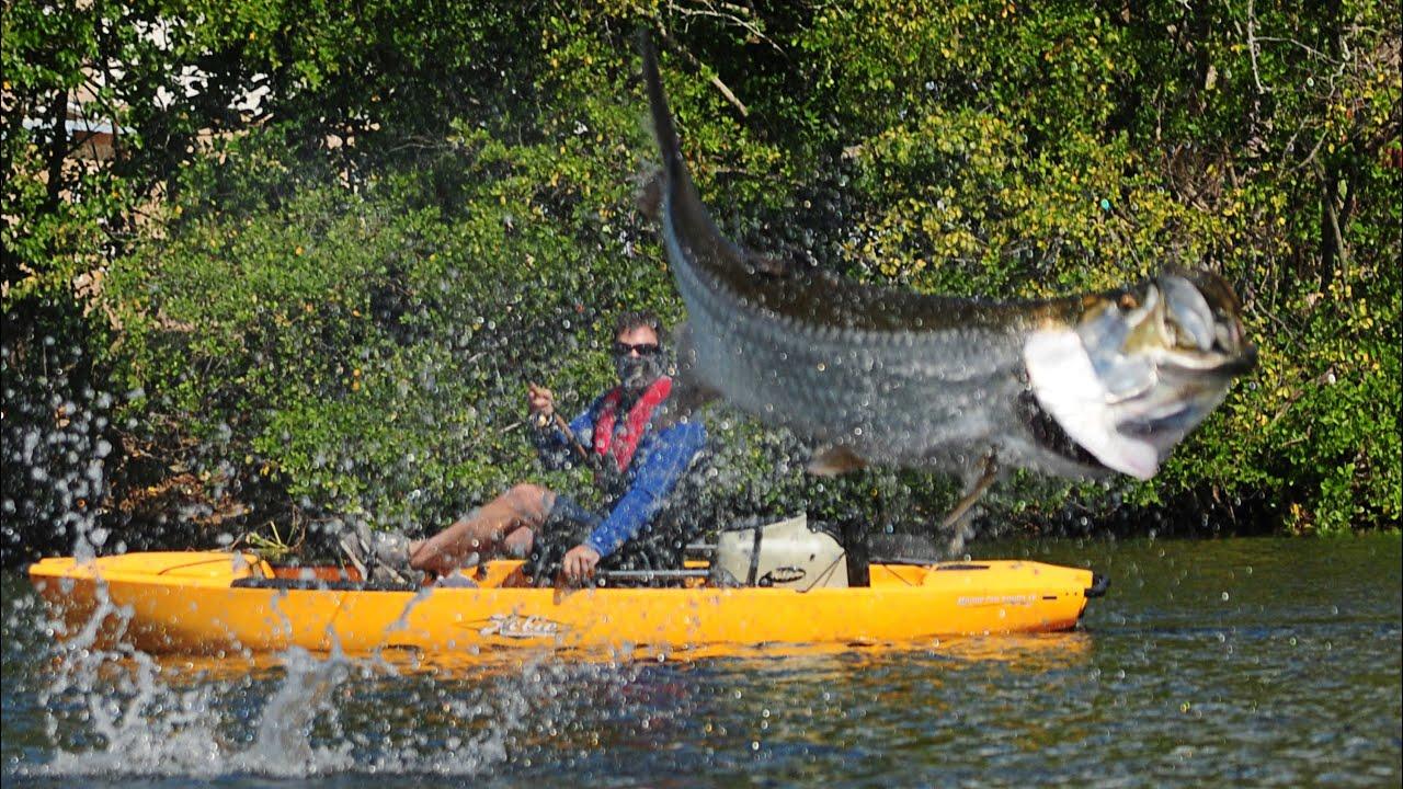 Kayak fishing puerto rico for tarpon youtube for Fishing in puerto rico