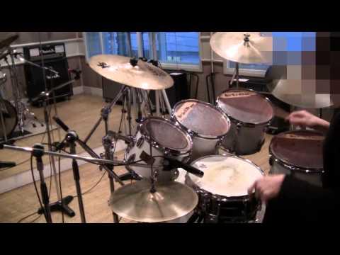 【Drum Cover】 SHOW-YA「限界LOVERS」 をオープンハンドで叩いてみました。