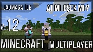Minecraft Survival Multiplayer Türkçe - [S1-B12]  At mı? Eşek mi?