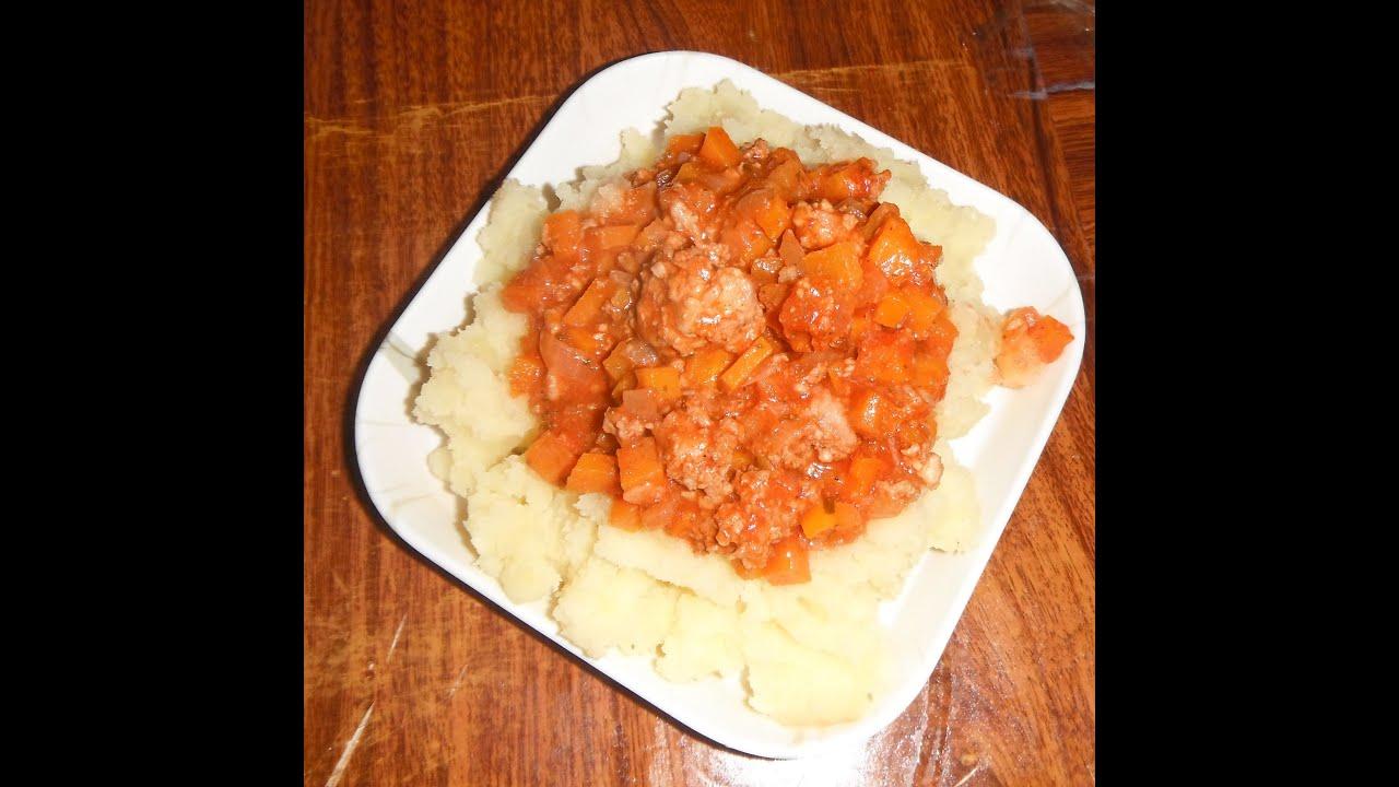 Как сделать подливу для картофельного пюре