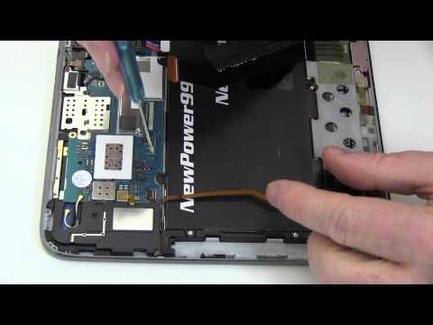 How to Replace Your Samsung GALAXY Note 10.1 GT-N8020 Battery