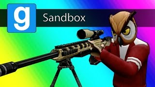 Gmod Sandbox - 1v1 Sniper Battle! (Garry's Mod: Call of Duty MW2 Parody)