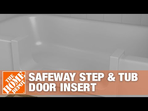 Safeway Step Amp Tub Door Insert The Home Depot Renovations