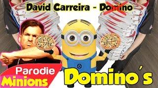 SOIRÉE POTES = SOIRÉE PIZZAS 🍕 (Parodie / David Carreira - Domino)