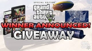 GIVEAWAY!! GTA V SPECIAL EDITION WINNER ANNOUNCED (Sort Of)!